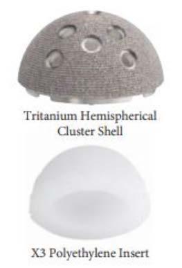Figure 1. Tritanium Acetabular Cup
